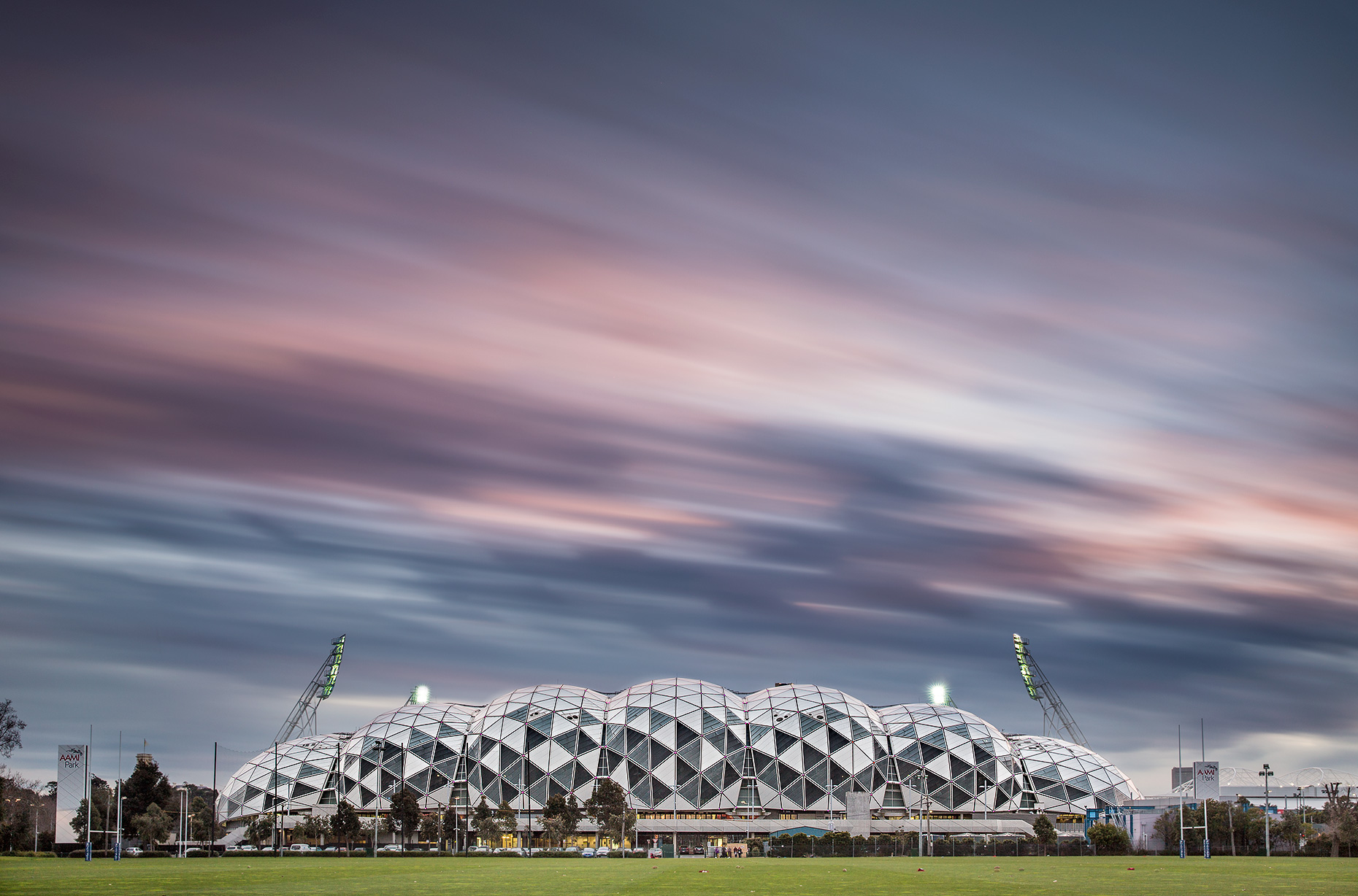Architectural Photographer Melbourne | AAMI Stadium | Michael Evans Photographer