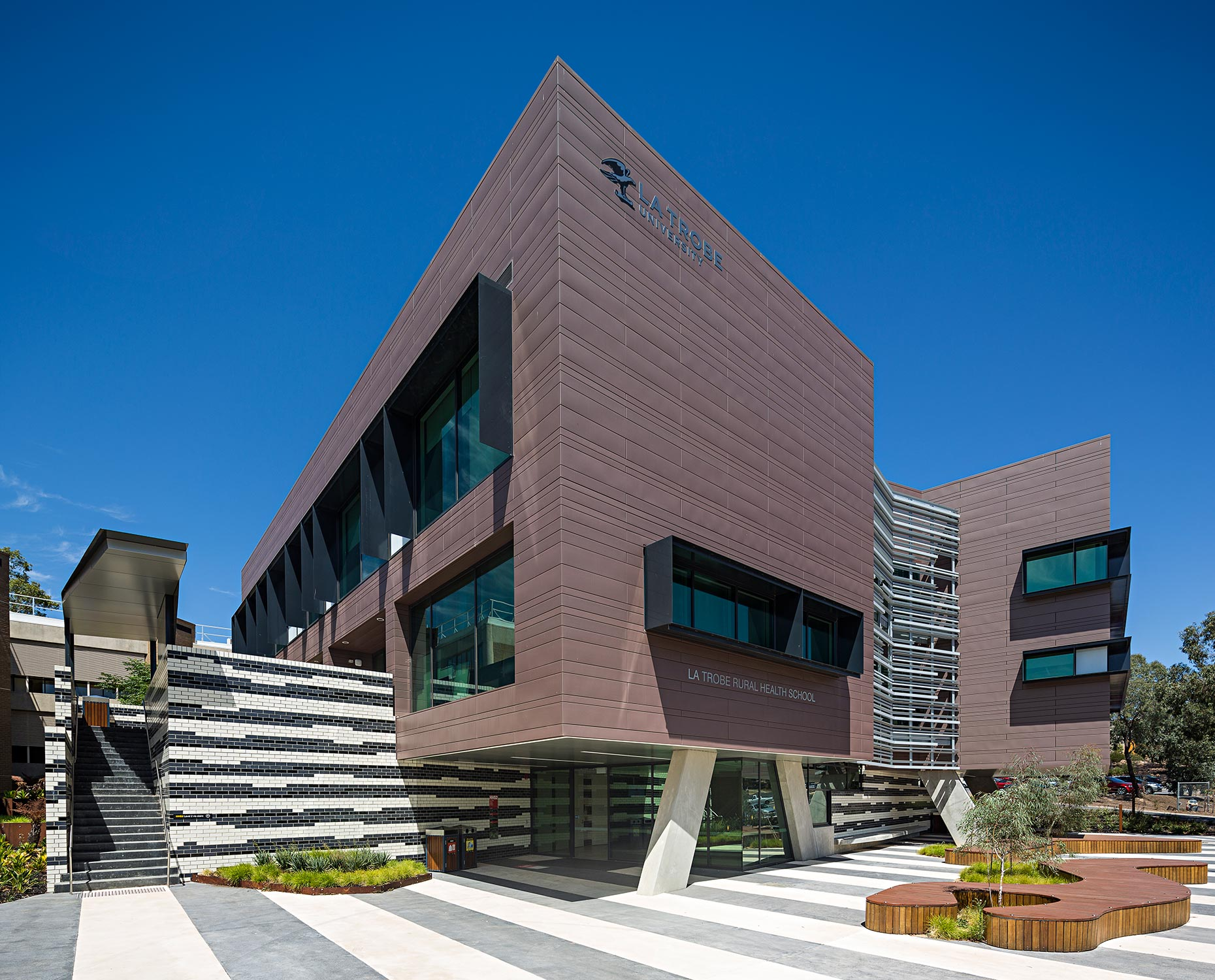 Architectural Photographer Melbourne | La Trobe University Bendigo | Michael Evans Photographer