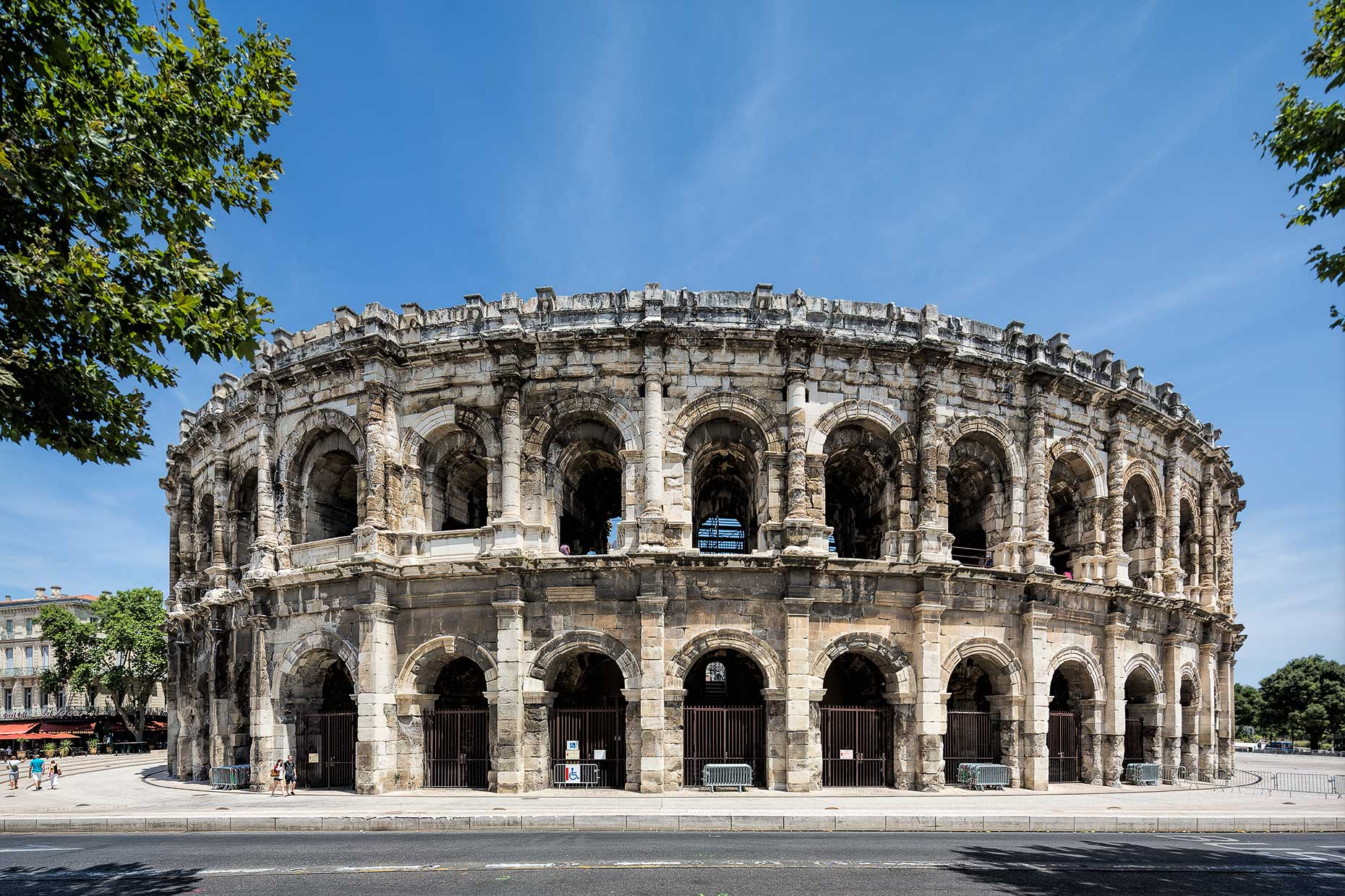 Travel & Lifestyle Photographer | Nimes Arena | Stock Photography | Michael Evans Photographer